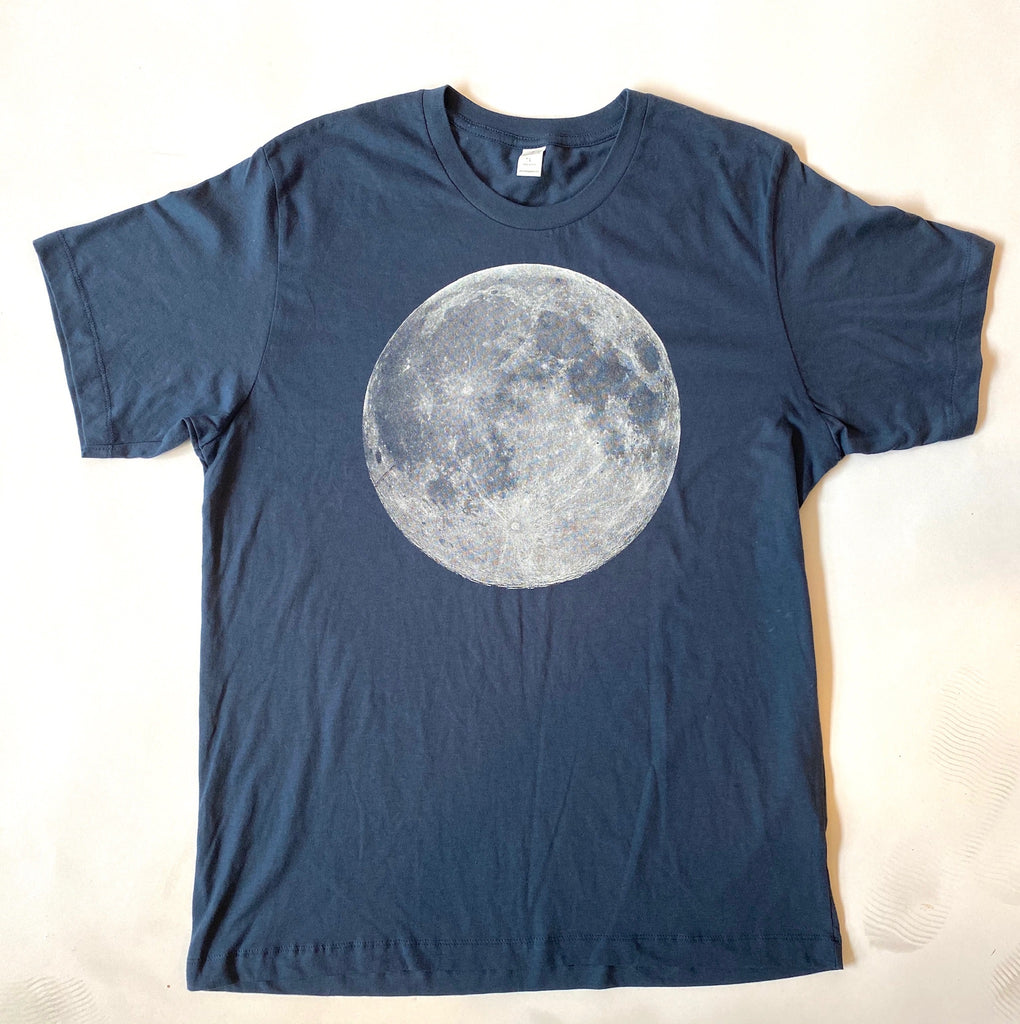 Navy Full Moon T-shirt