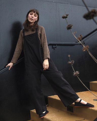 Black Overall Jumper