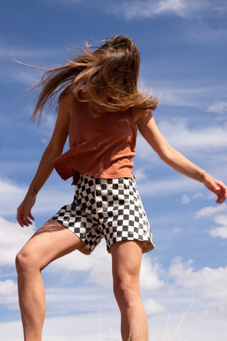 Checkerboard Venice Shorts