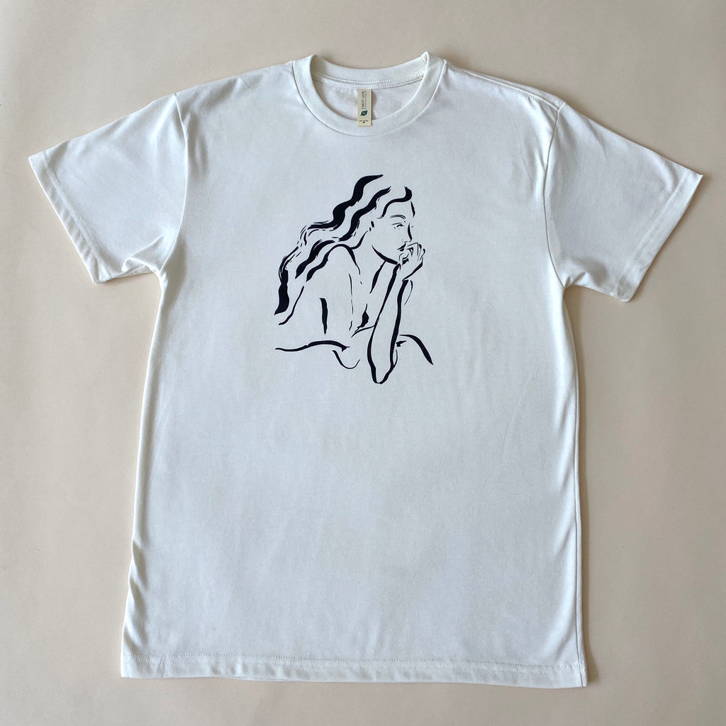 Lounging Lady Unisex Tee