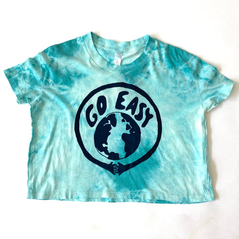 Go Easy Tie-Dye Crop Top