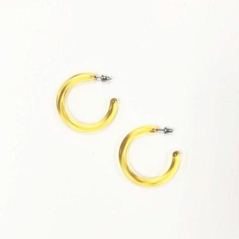 Lemon Midi Hoops