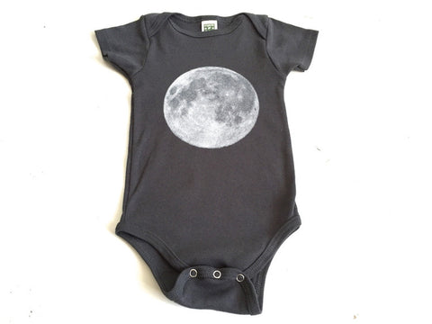 Full Moon Baby Onesie