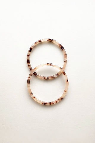 Blush Tortoise Bangle
