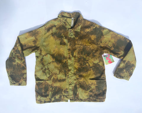 Light Camo Tie Dye Olympic Jacket