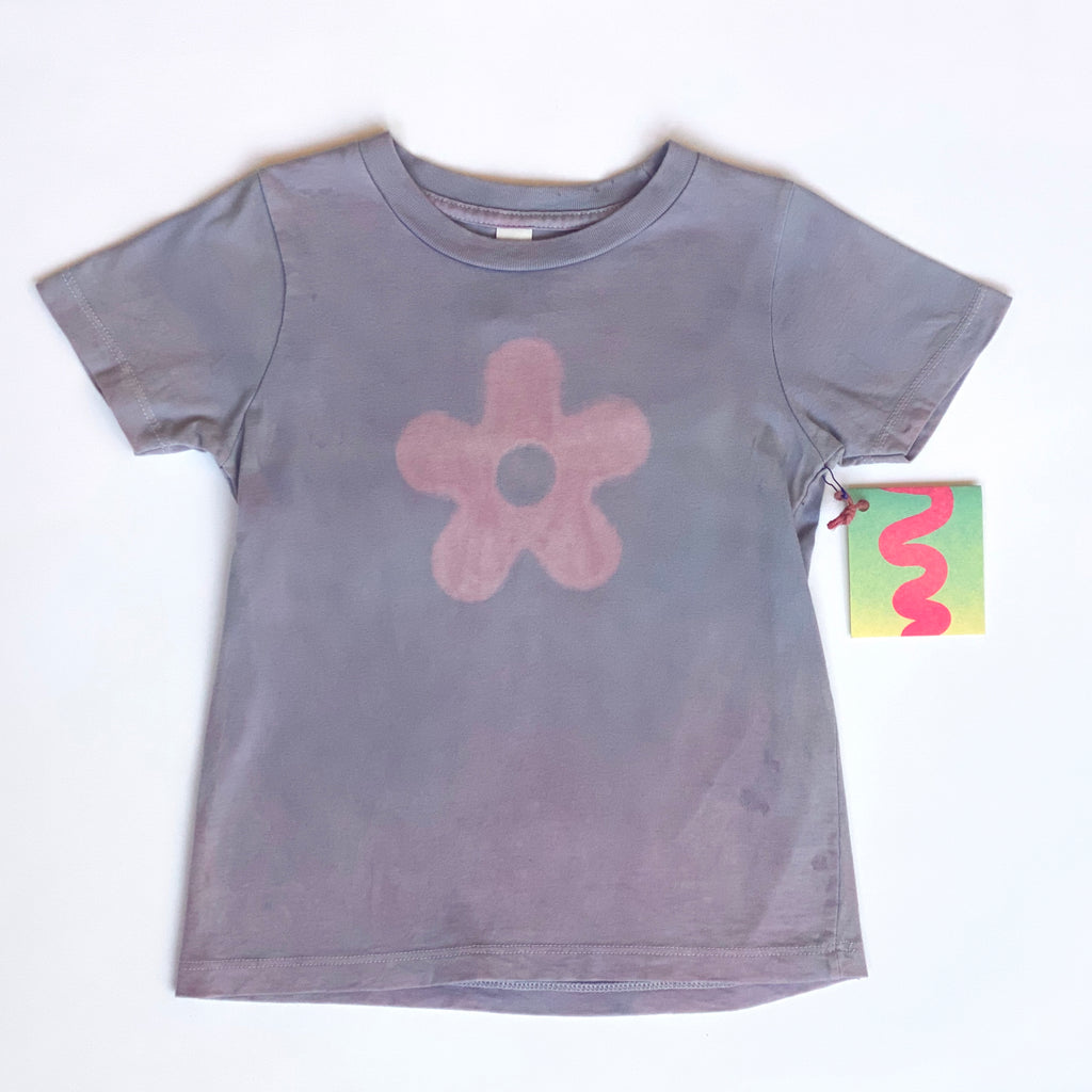 Purple Daisy Baby Tee