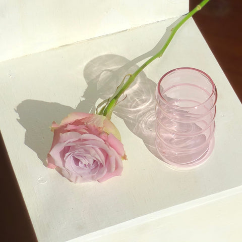 Pink Ripple Cup