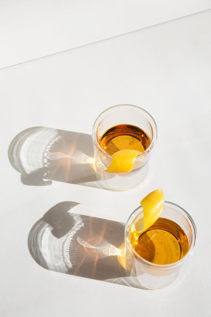Clear Double-Wall 6oz Glasses - Set of 2