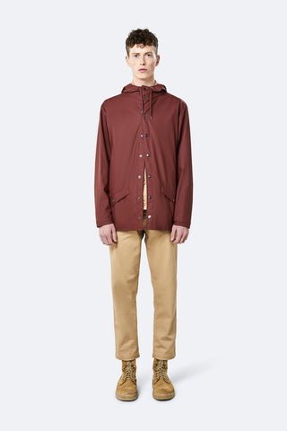 Rains Maroon Jacket