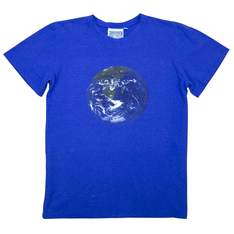 Earth Blue Earth Flag Tee