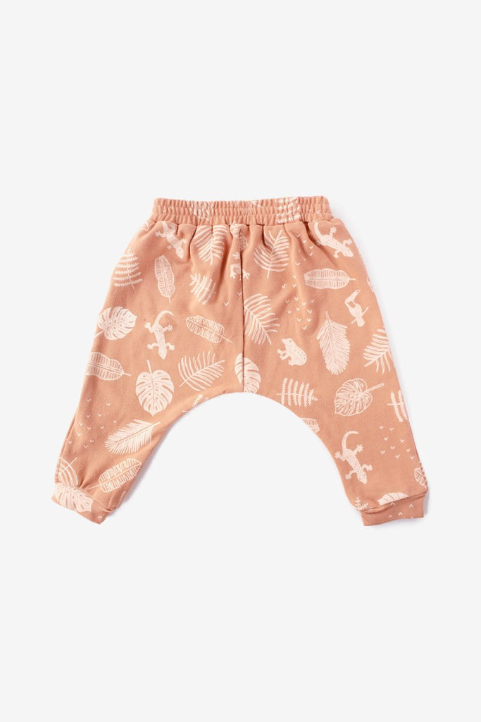 Jungle Almond Harem Pant