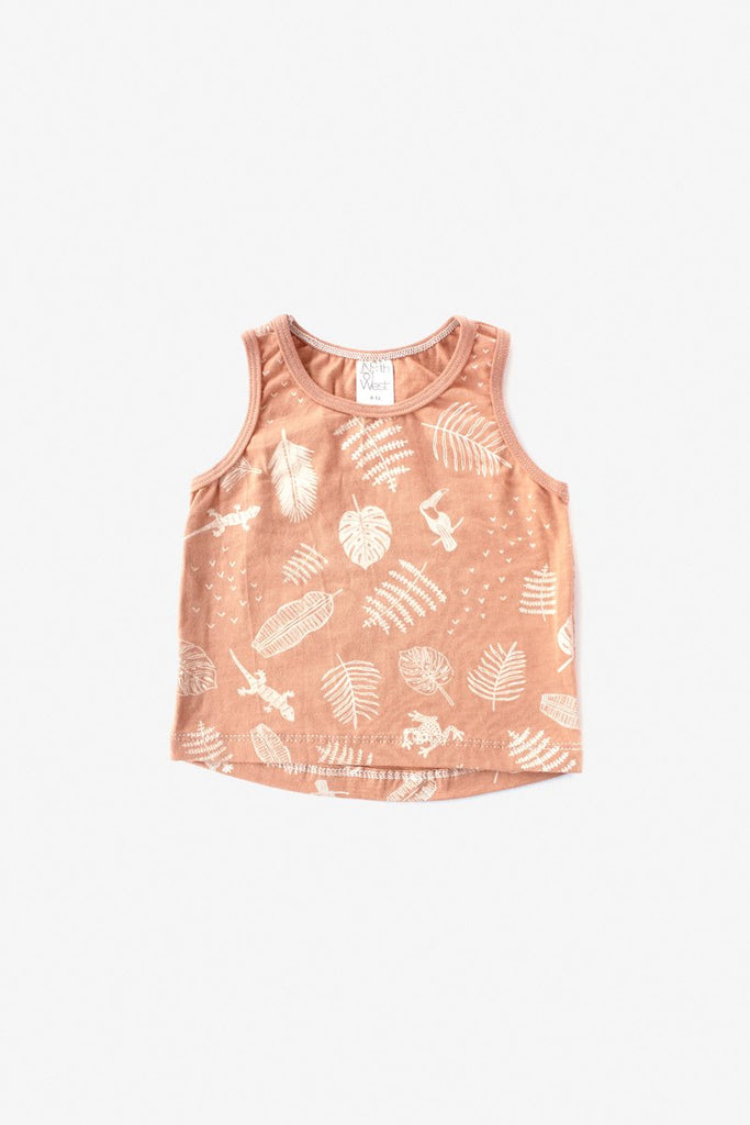 Jungle Almond Tank Top