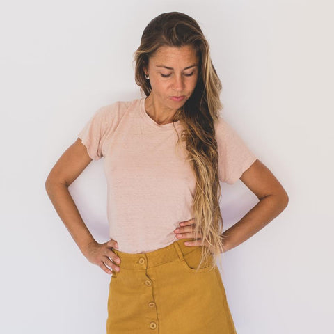 Dusty Pink Lorel Tee