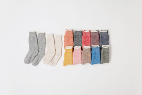 Merino & Organic Cotton Doubleface Socks