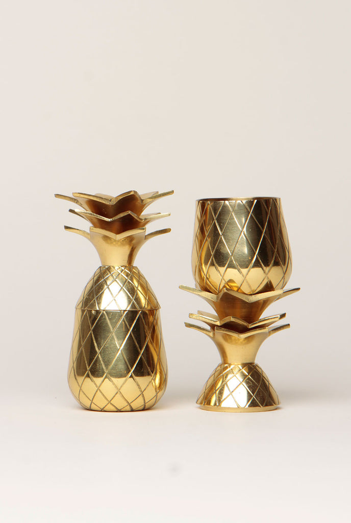 Pineapple Shot Glass Set