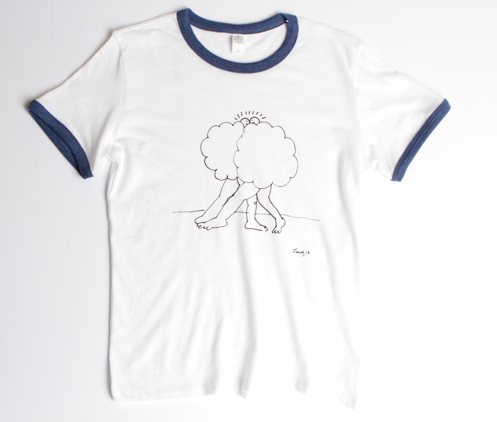 Cloud Buds Ringer Tee