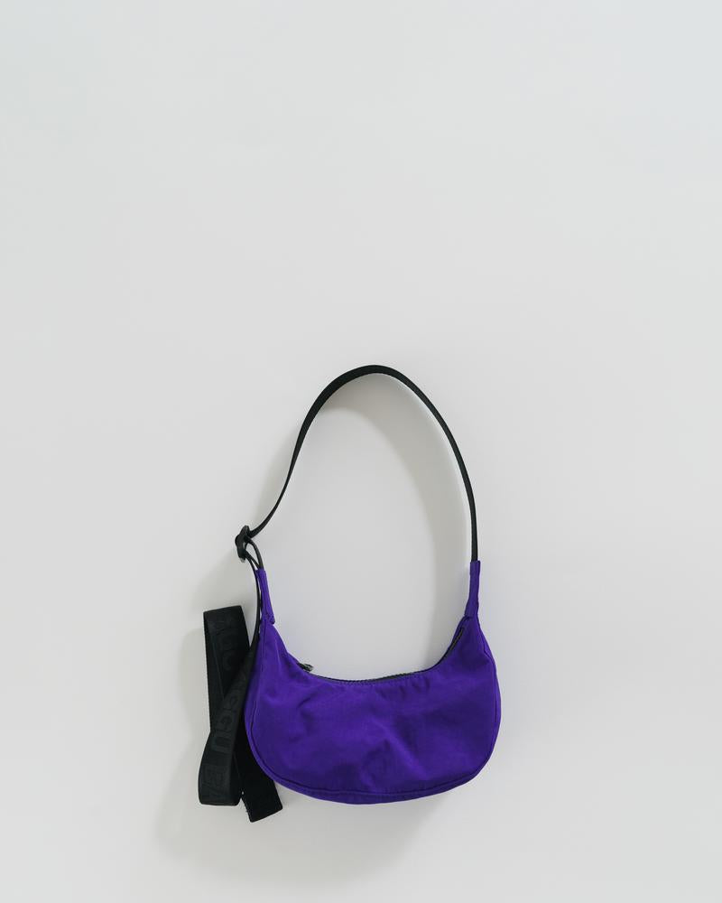 Cobalt Mini Crescent Bag