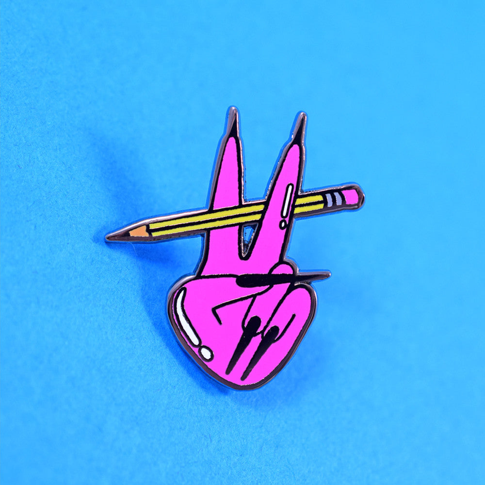 Peace Pencil Pin