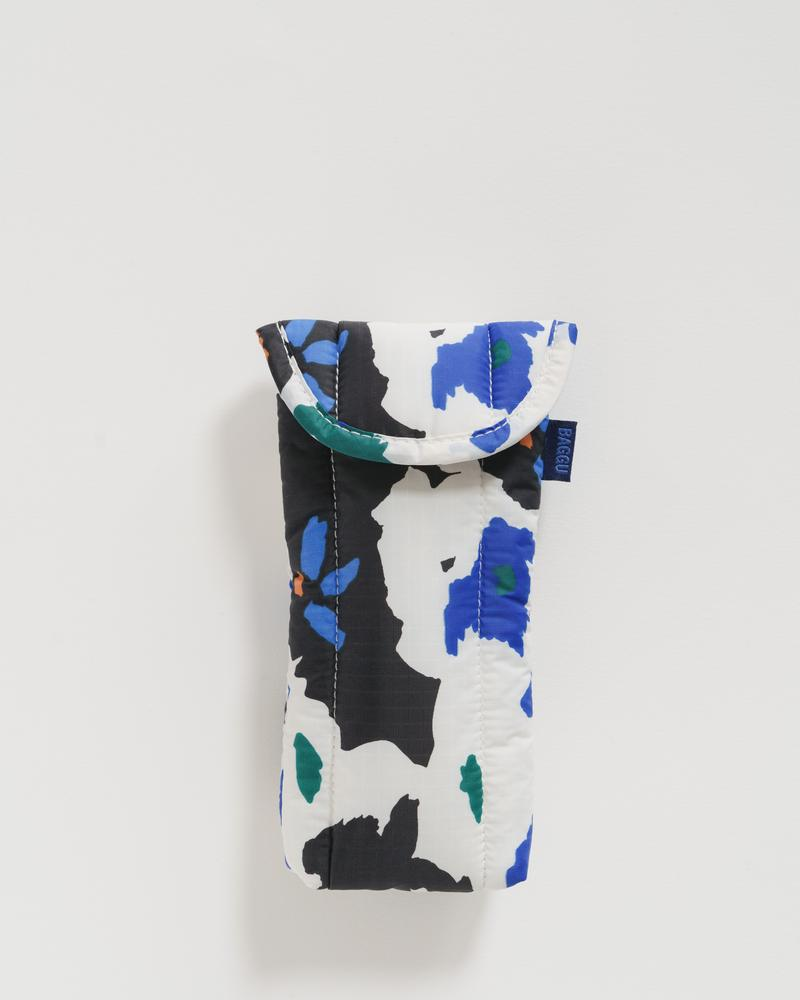 Litho Floral Puffy Glasses Sleeve
