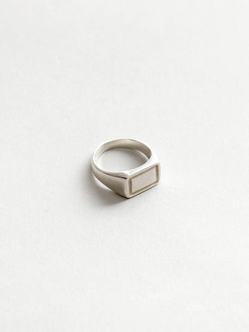 Parker Signet Ring in SIlver
