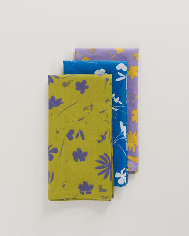 Floral Sun Prints Reusable Cloth Set