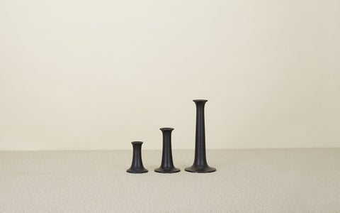 Black Simple Candle Holder