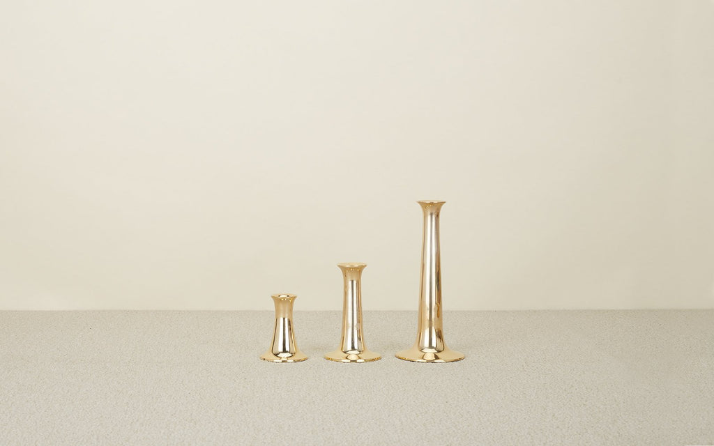 Brass Simple Candle Holder
