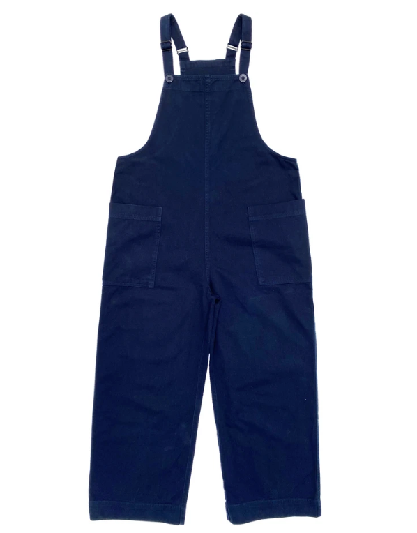 Navy Overall Jumper
