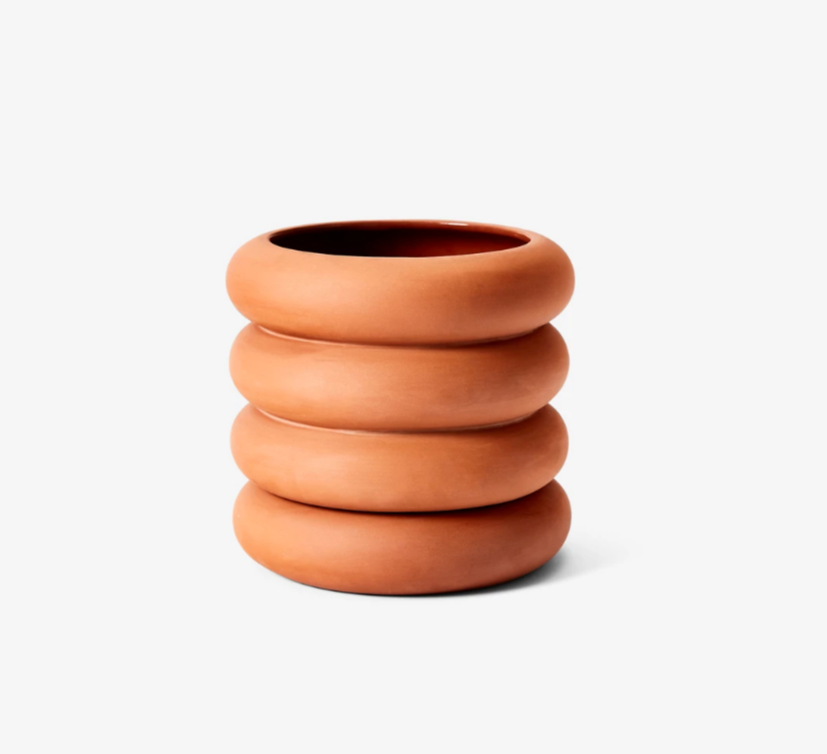 Tall Terracotta Stacking Planter