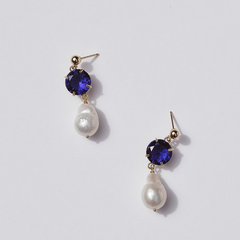 Lee Pearl Drop Earrings