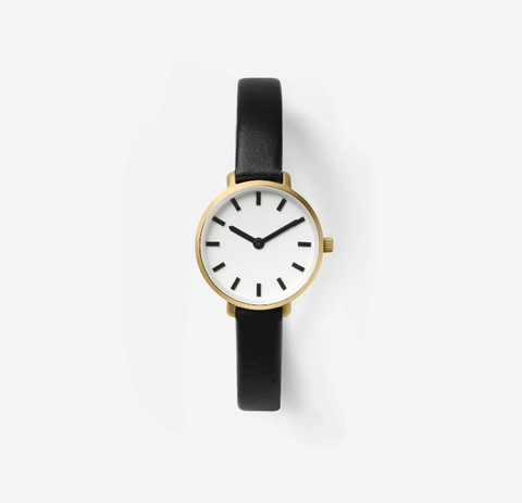 Gold/Black Beverly Watch