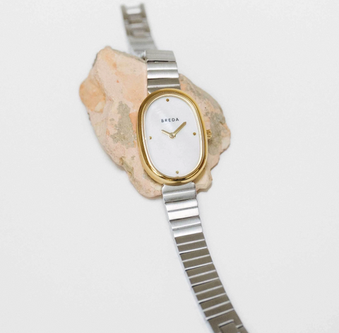 Gold/Silver/Pearl Jane Watch