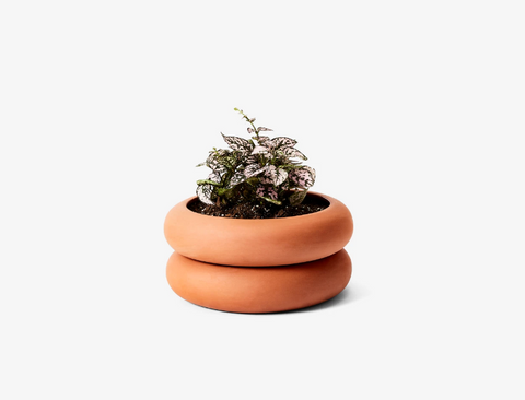 Short Terracotta Stacking Planter