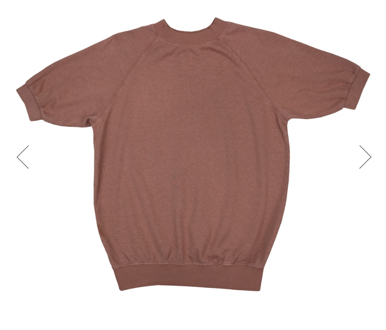 Terracotta Short Sleeve Raglan