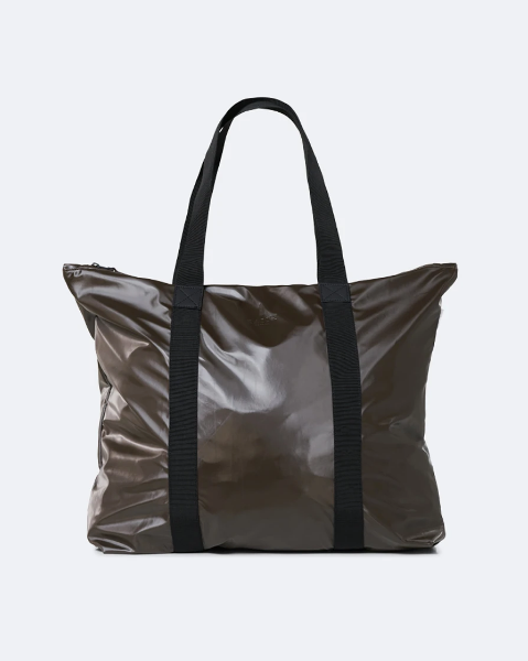 Shiny Brown Tote Bag