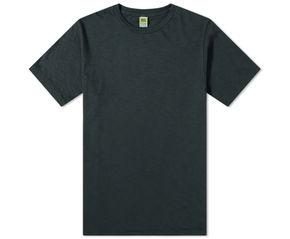 Black Rolled T-Shirt