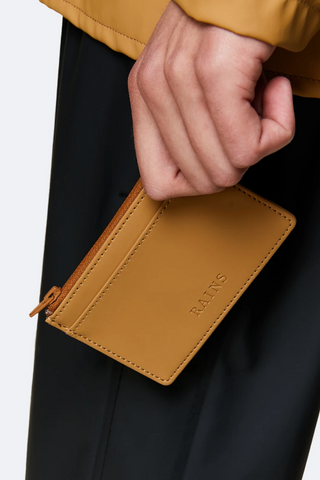 Khaki Rains Zip Wallet