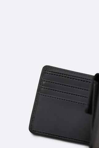 Black Rains Folded Wallet