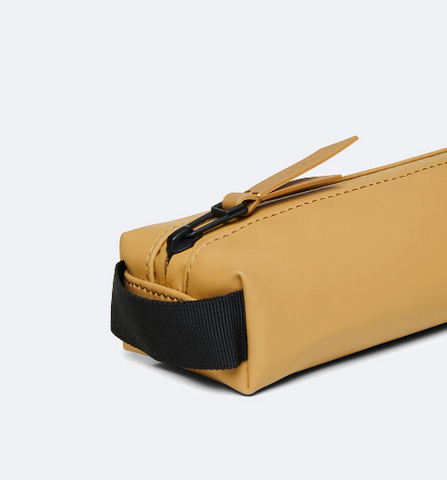 Khaki Rains Mini Pencil Case