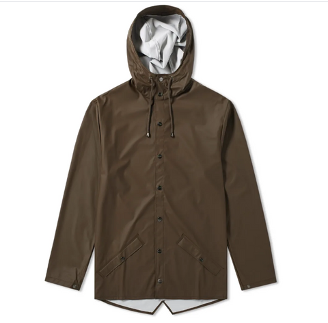 Rains Brown Jacket