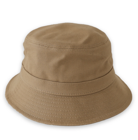 Dark Khaki Duck Bucket Hat