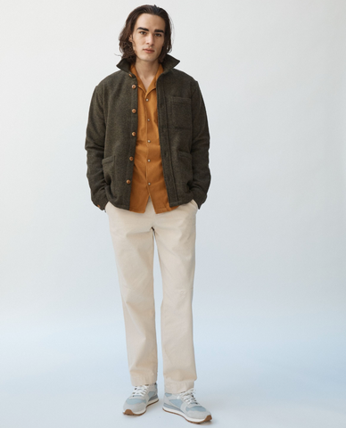 Loden Lambswool Jacket
