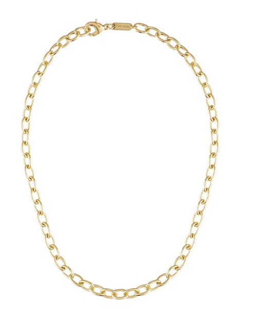 Gold Oval Link Chain