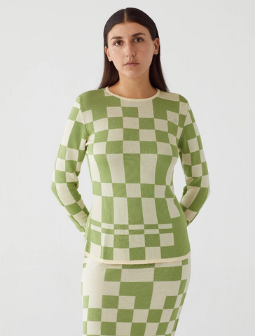 Green El Valle Knit