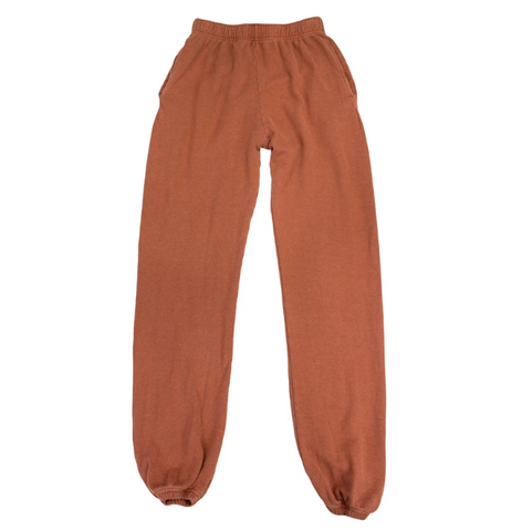Terracotta Classic Sweatpants