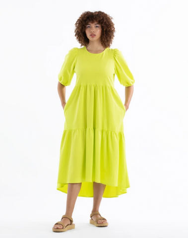 Highlighter Knit Party Dress