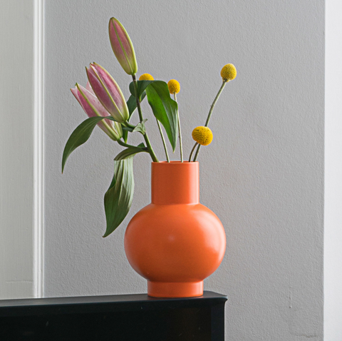 Small Orange Raawii Vase