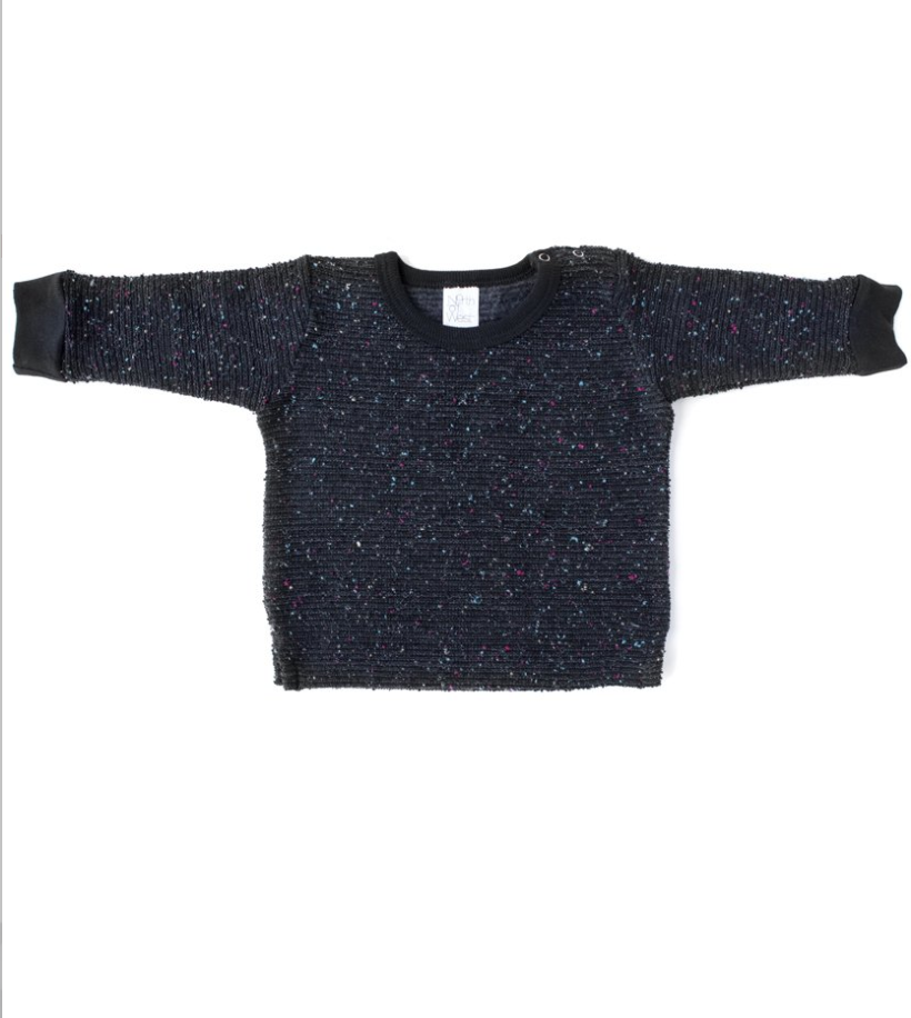 Pebble Knit Baby Sweatshirt