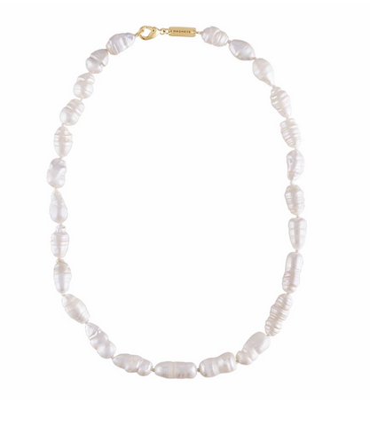 Biwa Pearl Necklace