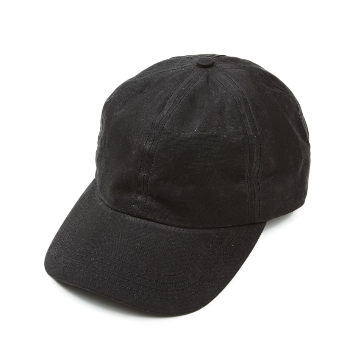 Black Waxed Cap